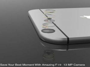 Chiêm ngưỡng bộ thiết kế iPhone 7 với nút Home ảo