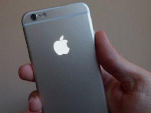 Hướng dẫn biến logo táo khuyết thành đèn phát sáng trên iphone 6
