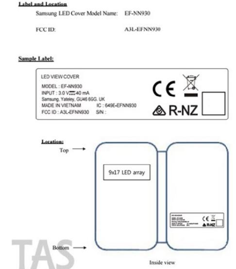 Note 7 sẽ ra mắt chung với vỏ bảo vệ LED View Cover dành riêng cho chính mình vào 2/8 tới